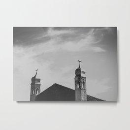 Al Rashid Mosque Metal Print