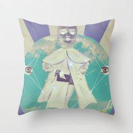 UNIVERSOS PARALELOS 004 Throw Pillow