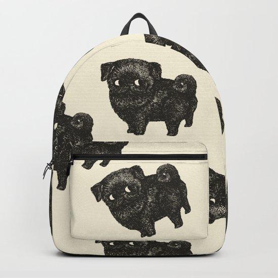 Black Pug Backpack