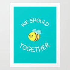 A bug's love life Art Print