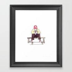 Skate Jock Framed Art Print