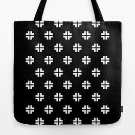 Scandinavian / Black + White Tote Bag