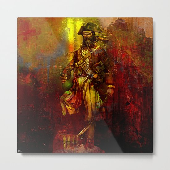 The den of the pirate Metal Print