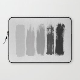 Black & White Stripes Laptop Sleeve