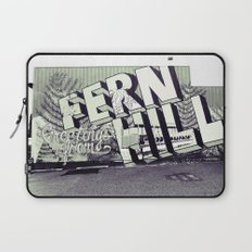 Greetings from Fern Hill Laptop Sleeve