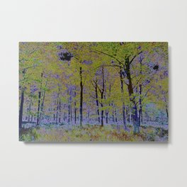 English Forest Art Metal Print