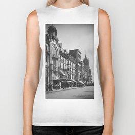 Tremont Street, Boston. 1906 Biker Tank