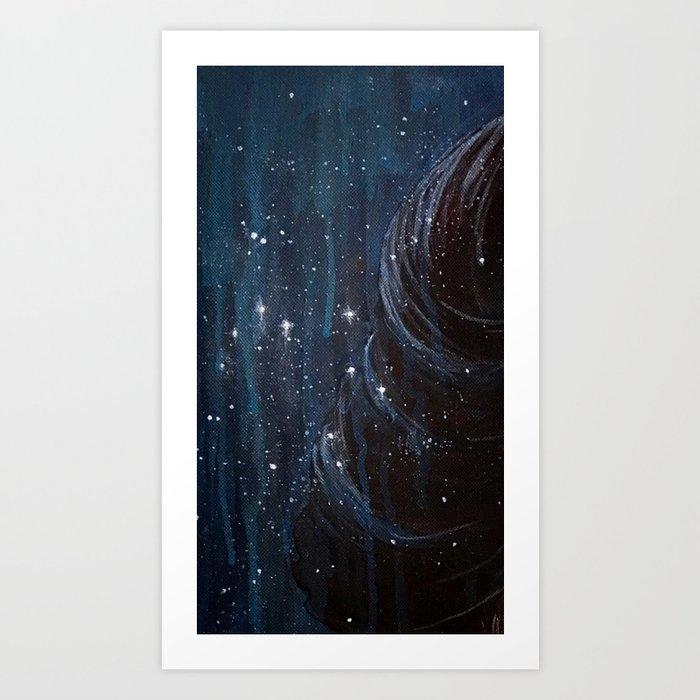 Star Child Art Print