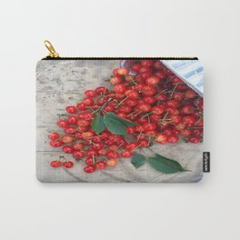 Who Spilled the Cherries! Carry-All Pouch