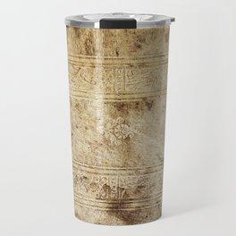 Old Book Travel Mug
