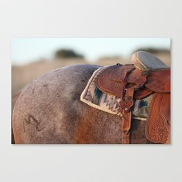 Saddle Canvas Print