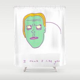 I Think I Like You Shower Curtain