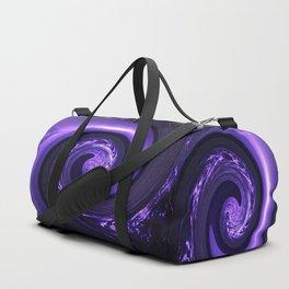 Spiral Vortex Purple G200 Duffle Bag