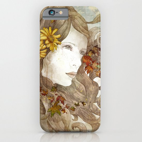 As Much as I Love Autumn iPhone & iPod Case