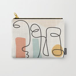 Abstract Faces 31 Carry-All Pouch