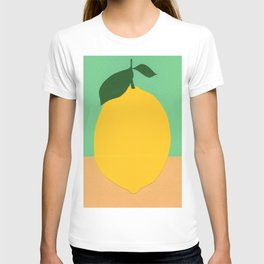 Lemon With Two Leaves T-shirt