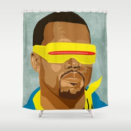 Chicago's Hip Hop Hero Shower Curtain