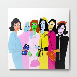 Fashion Week Metal Print