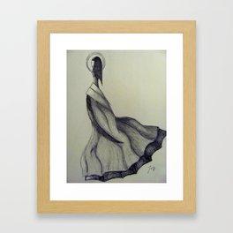 Dress Design Framed Art Print