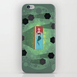 Mermaid Funeral iPhone Skin