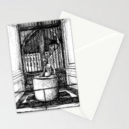 Night at the Louvre Stationery Cards