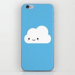 Happy Kawaii Cloud iPhone Skin