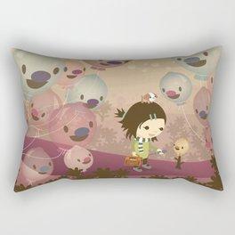 Balloon Tree Song Rectangular Pillow