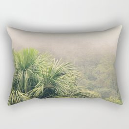 Rainforest Fog Rectangular Pillow