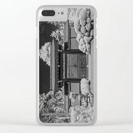 Japanese Tea Garden Gate, Golden Gate Park, San Francisco, California Clear iPhone Case
