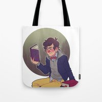 preppy Tote Bags featuring preppy dipper by monsternist