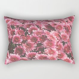 Chrysanthemum Autumn Flowers Photography Rectangular Pillow