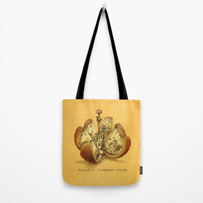 Steampunk Orange  (color option) Tote Bag