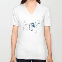 artpop V-neck T-shirts featuring ARTPOP by Greg21