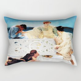 Lack of Privacy Rectangular Pillow