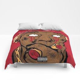 PRINT ILLUSTRATION YOUNG THUG Comforters