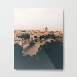 The moods of Budapest Metal Print