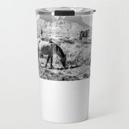horses Travel Mug