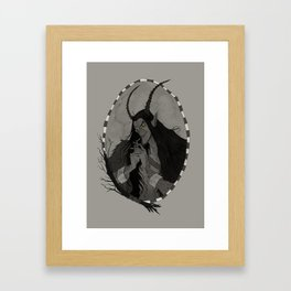 The Krampus Framed Art Print