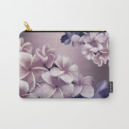 Imperfect Plumeria Carry-All Pouch