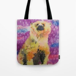 Polar Bear Cub Tote Bag