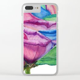 OPEN UP Clear iPhone Case