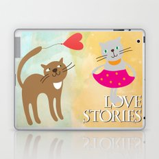 Cats - love stories Laptop & iPad Skin