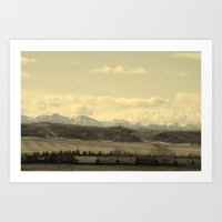 canada Art Prints featuring Canada by J.Sowden