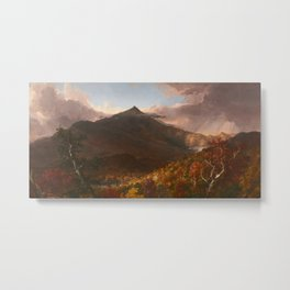View of Schroon Mountain, Essex County, New York, After a Storm by Thomas Cole Metal Print