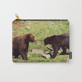 Natural Instincts | Bears Wildlife Photography Carry-All Pouch