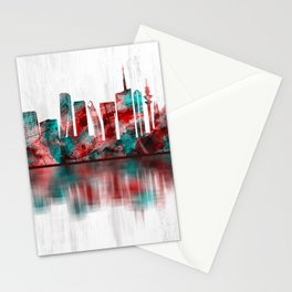 Milan Italy Skyline Stationery Cards