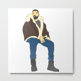Drake Views Metal Print