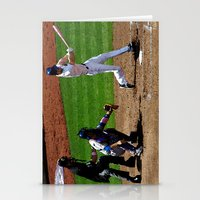 baseball Stationery Cards featuring Baseball by Mylittleradical