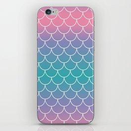 Pastel Mermaid iPhone Skin
