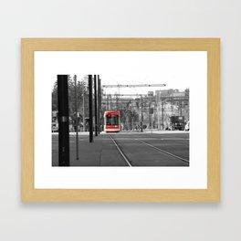 Ride The Rocket Framed Art Print